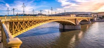 玛格丽特桥梁 免版税库存照片