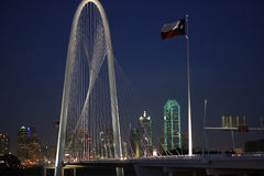 玛格丽特狩猎桥梁在晚上 免版税库存图片