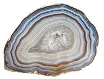 玛瑙和石英geode 免版税库存照片