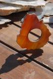玛瑙映射形状乌拉圭 库存照片