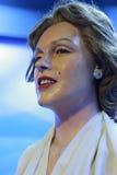 玛里琳・门罗的蜡象 库存照片