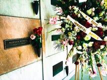 玛里琳Monroe's坟墓 库存图片