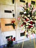 玛里琳Monroe's坟墓 图库摄影