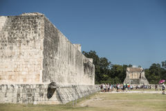 玛雅人墨西哥破坏tulum 库存照片