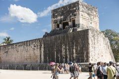 玛雅人墨西哥破坏tulum 免版税库存图片
