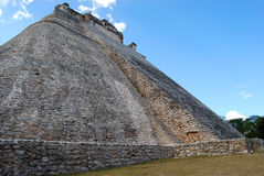 玛雅人废墟 图库摄影