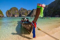 玛雅人海湾发埃发埃泰国 免版税库存照片