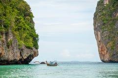玛雅人海湾 免版税图库摄影