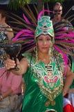 从玛雅人部落的人们 库存图片
