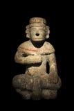 玛雅人雕象石头 图库摄影