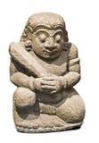 玛雅人雕象 库存图片