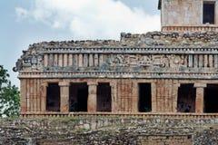 玛雅墨西哥宫殿sayil尤加坦 免版税图库摄影