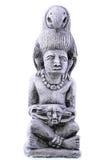 玛雅小雕象 免版税库存照片