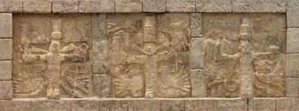玛雅带状装饰 图库摄影