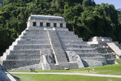 玛雅废墟 免版税图库摄影