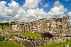 玛雅废墟 库存照片