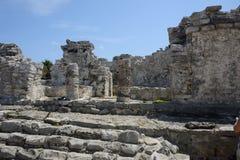 玛雅废墟 图库摄影