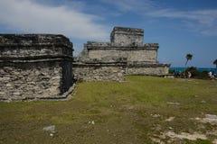 玛雅废墟 免版税库存图片