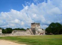 玛雅废墟Pyramide文化墨西哥chitzen itza尤加坦 库存照片