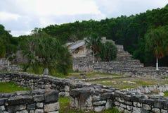 玛雅文化金字塔历史墨西哥尤加坦Xtampu 图库摄影