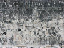 玛雅方形石texure 免版税库存图片