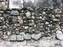 玛雅方形石texure 图库摄影