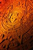 玛雅日历。 免版税库存图片