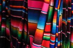 玛雅毯子待售 免版税库存照片