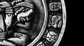 玛雅的日历 免版税库存照片