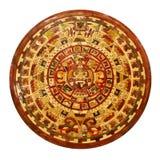 玛雅的日历 库存图片