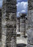 玛雅的象形文字 免版税图库摄影