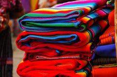 玛雅纺织品 免版税库存图片