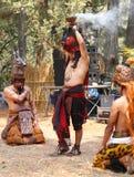 玛雅节日, Atitlan,危地马拉 免版税库存照片
