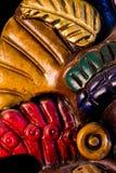 玛雅雕塑 图库摄影