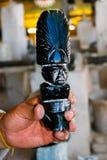 玛雅雕塑 免版税库存图片