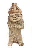 玛雅雕象 免版税图库摄影