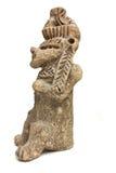 玛雅雕象 图库摄影