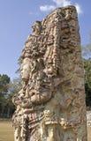 玛雅雕象 免版税库存图片