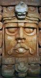 玛雅死人面模梅里达墨西哥 库存照片