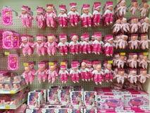 玩偶品种在超大商店的 免版税库存图片