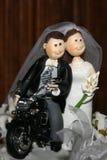 玩偶婚姻 库存图片