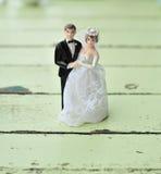 玩偶婚礼 免版税库存照片