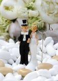 玩偶婚礼 免版税库存图片