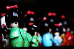 玩偶日语 免版税库存照片