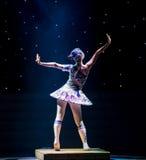 玩偶现代舞蹈 库存照片