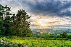 从玩偶突岩,高峰区的看法 图库摄影