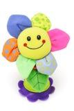 玩偶表面面带笑容向日葵 免版税库存图片