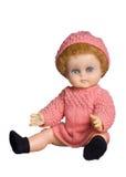 玩偶被塑造的老 免版税库存图片