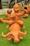 玩偶黏土在市场上 库存照片