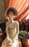 玩偶画象在雅罗斯拉夫尔市,俄罗斯博物馆  免版税库存照片